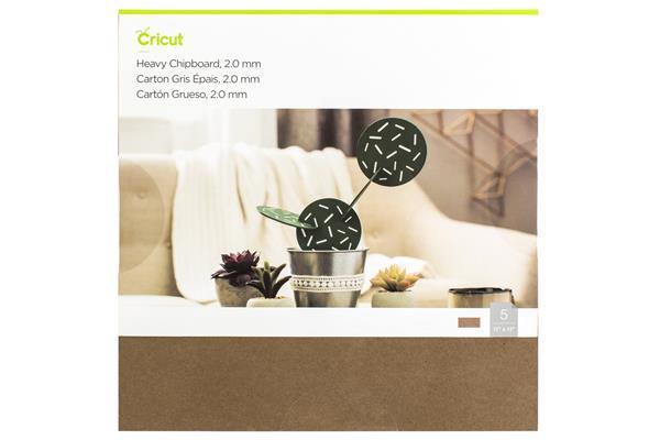 Cricut Heavy Chipboard 5-pack