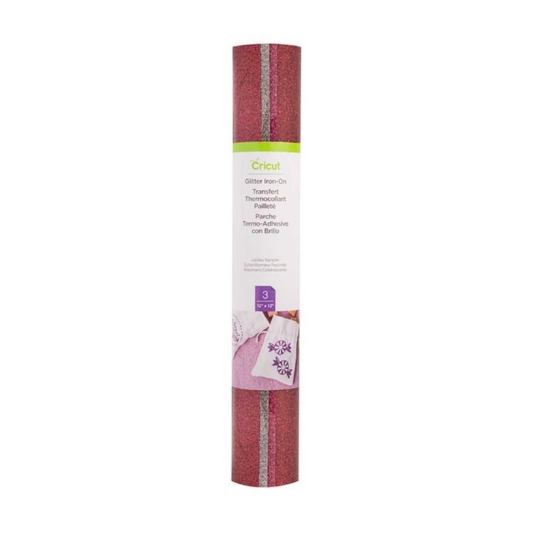 Glitter Iron-On Sampler, Jubilee (röd, rosa, multi)