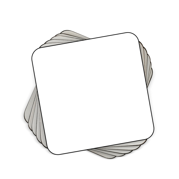 Underlägg med undersida i kork 4-pack