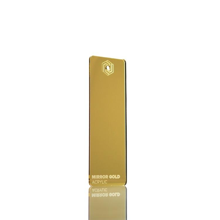 Akryl-paket MIRROR, Guld