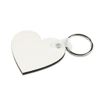 Subli Nyckelring Heart 5-pack