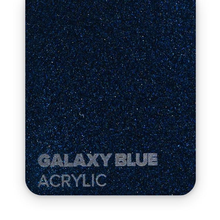 Akryl GALAXY Blå ZOOM