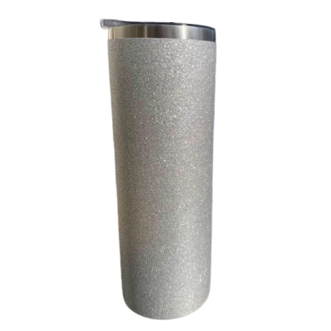 Termosmugg Glitter Silver