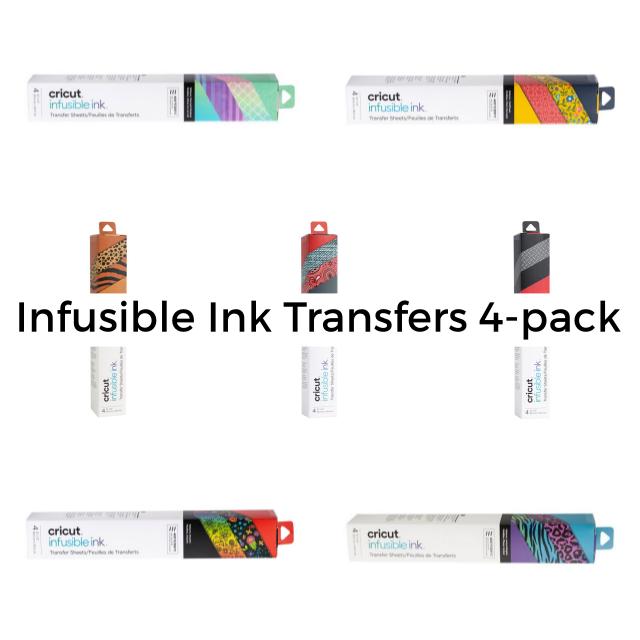 Infusible Ink Transfer Sheet 4-pack, samlingsbild