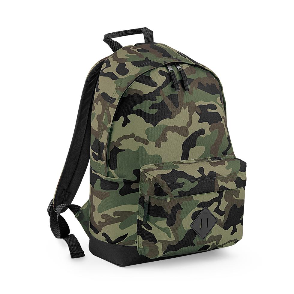 Camo ryggsäck