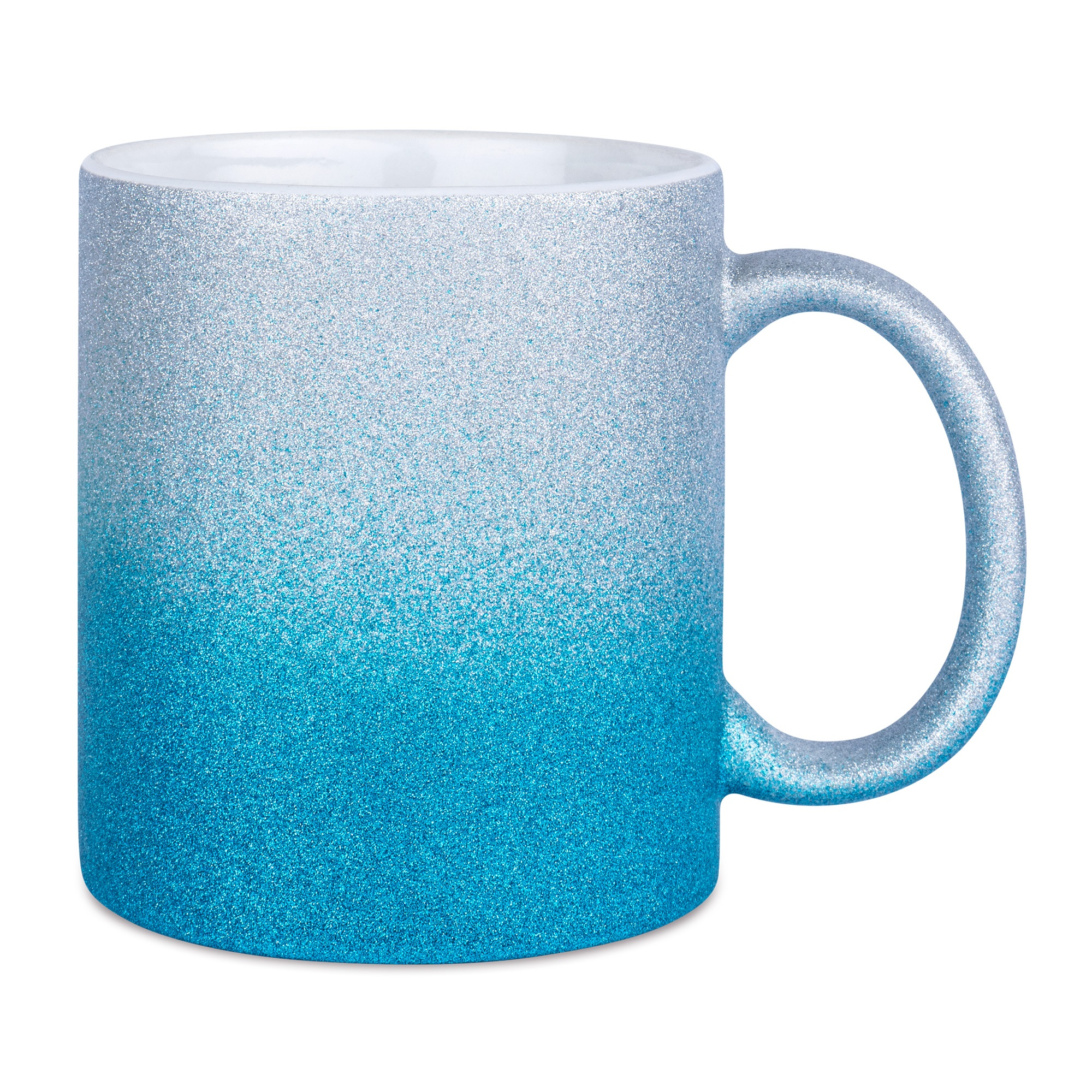 Sparkle Gradient mugg, SilverBlue