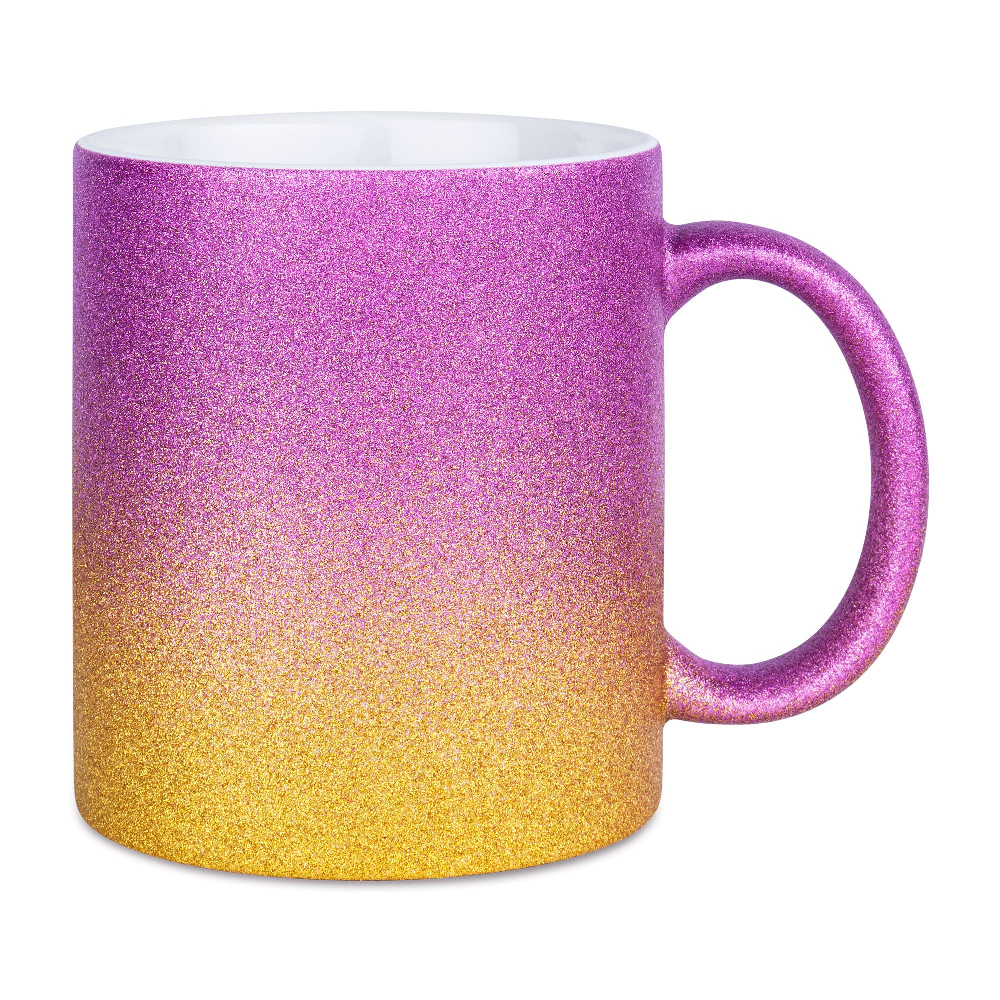 Sparkle Gradient mugg, PurpleGold