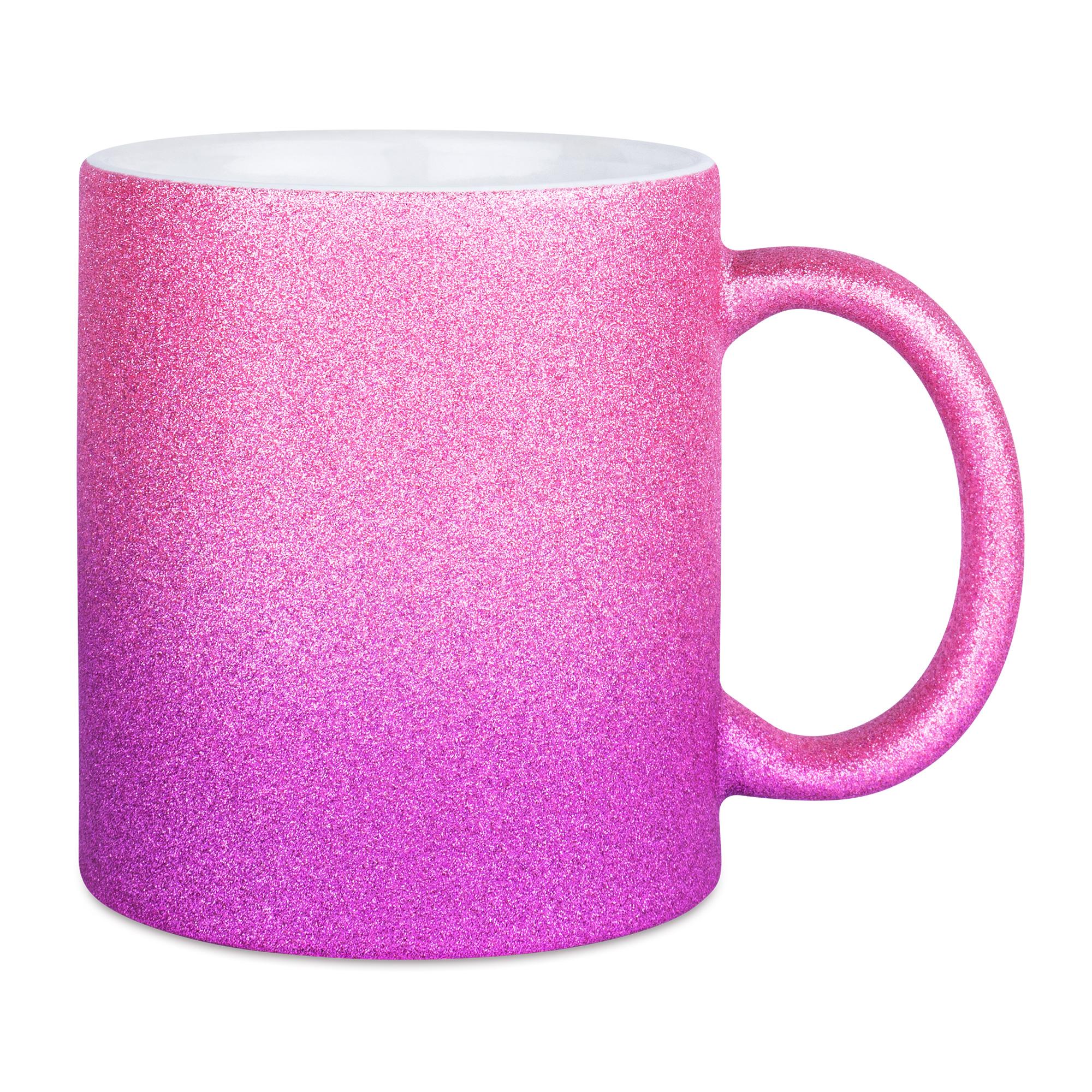 Sparkle Gradient mugg, PinkPurple