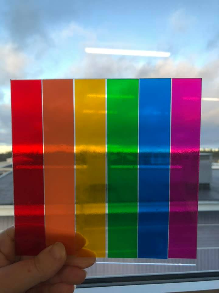 Transparent 30x50