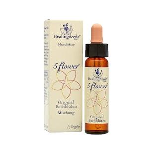 Räddningsdroppar, 5 flower remedy