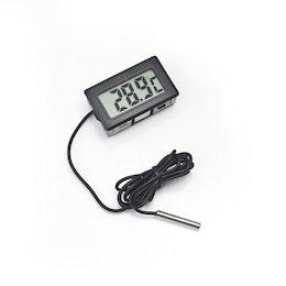 Digital Termometer -50 till +110 Grader svart