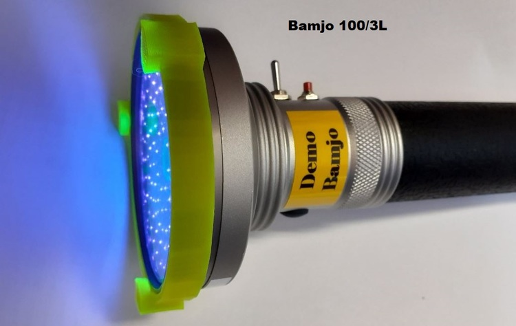 uv-lampa / Bärnstens lampa