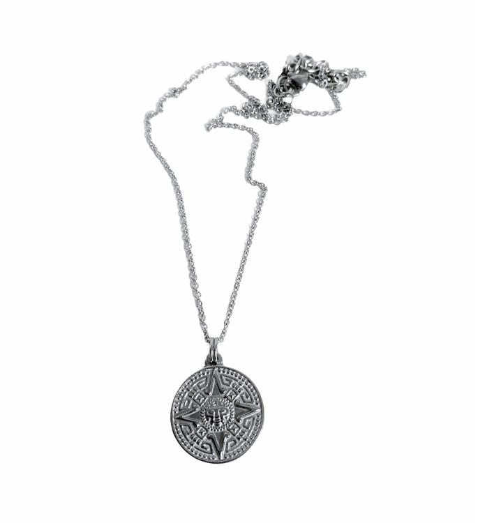 Medaljong - Mayamönster