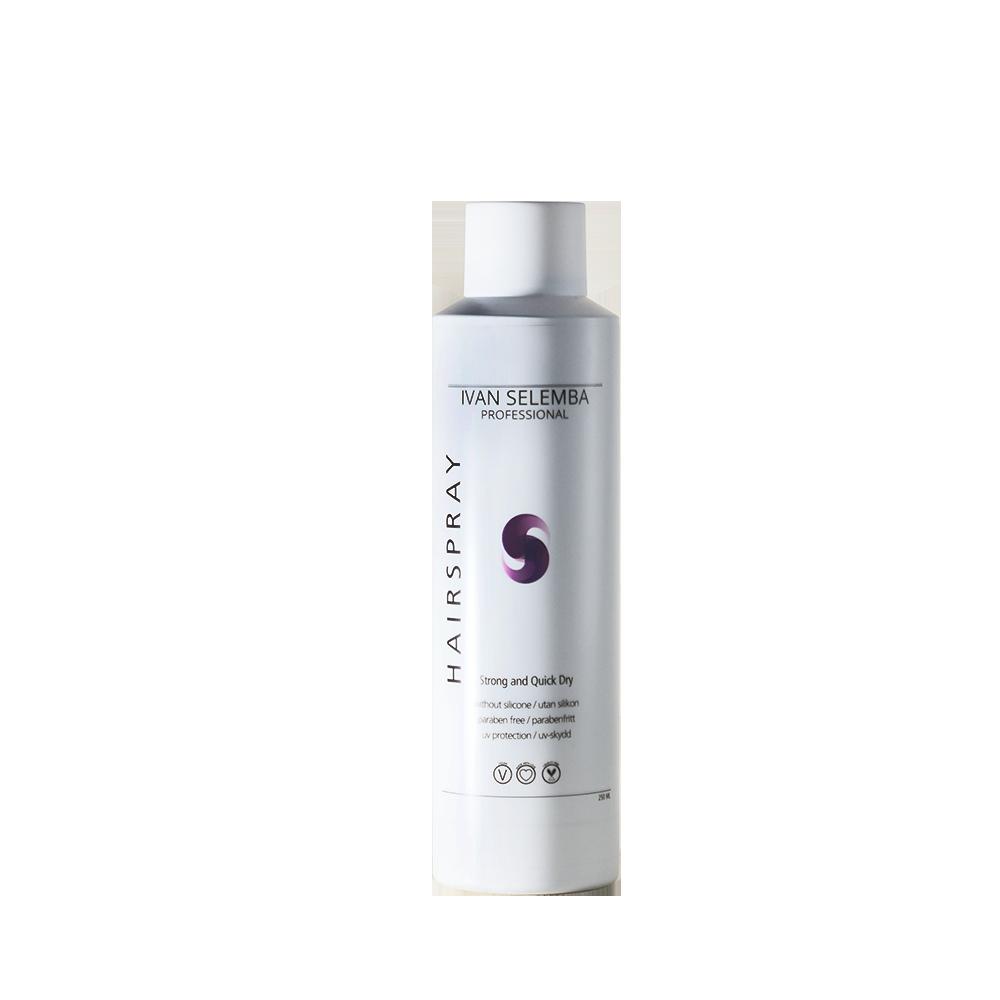 Strong & Quick Dry Hairspray - Ivan Selemba - 250 ml