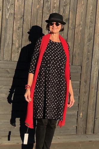 Trikåklänning Alie