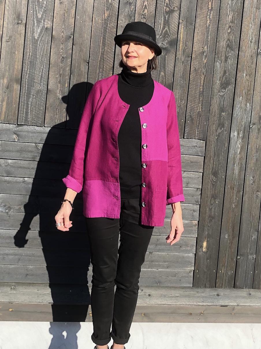 Linnejacka Greta