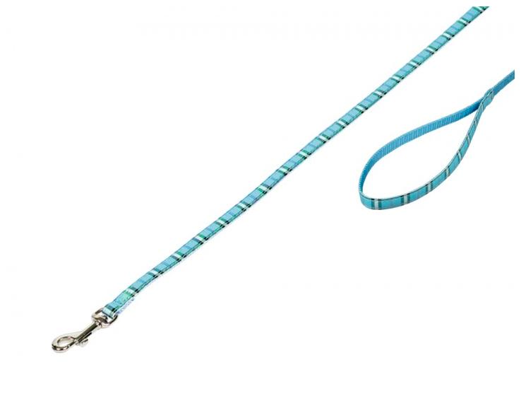 Koppel Tartan 120cm Ljusblå