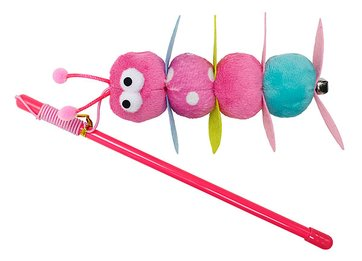 Cat Wand Pink mini Caterpillar