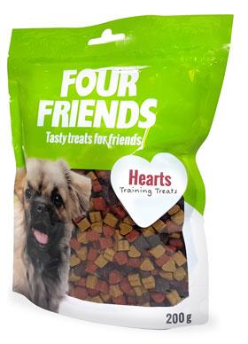 Four Friends Hearts 200g