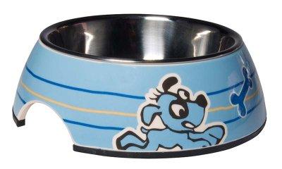 Rogz Skål Bubble Pupz M Ljusblå 350 ml