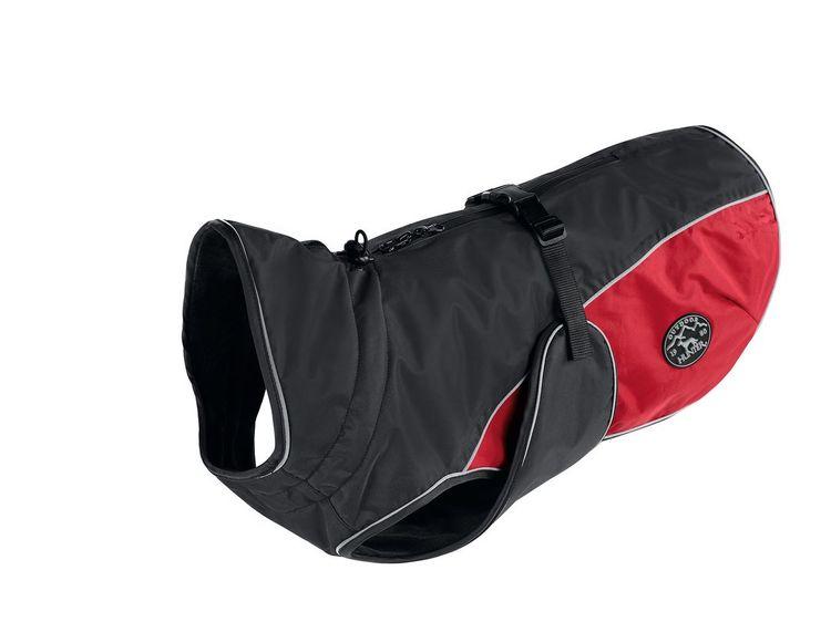 Hunter Uppsala Cozy täcke antracit/röd 30 cm