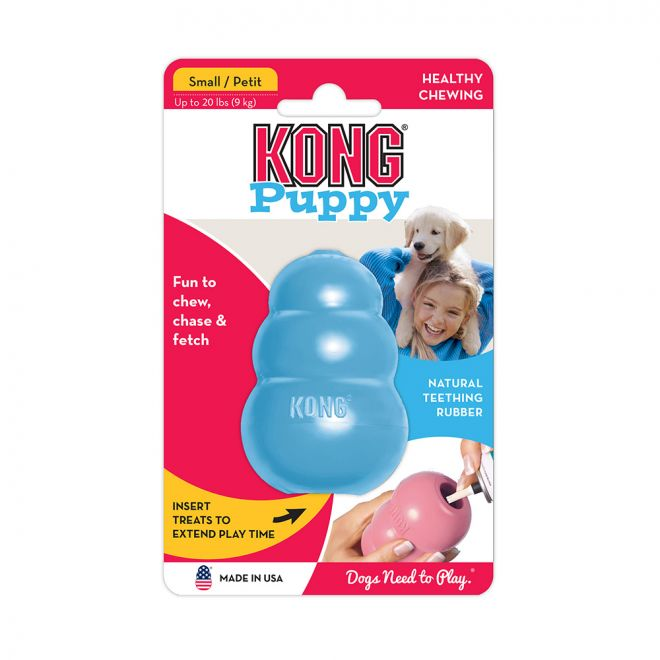 KONG Puppy Small Blå