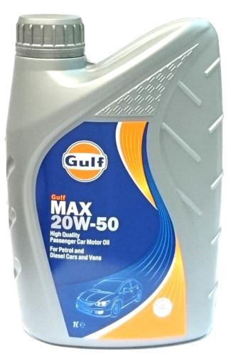 Gulf Max 20W-50