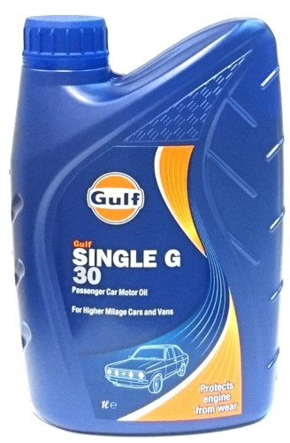 Gulf Single G SAE 30