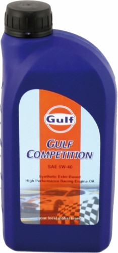 Gulf Competition Oil 5W-40 1 liter