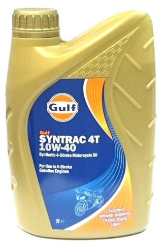 Gulf Syntrac 4T 10W-40 1 liter