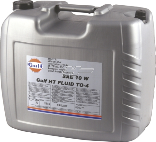 Gulf HT Fluid TO-4 10W