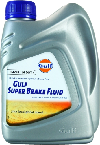 Gulf Brakefluid Super DOT 4