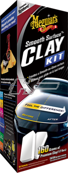 Lerkit Meguiars Smooth Surface Clay Kit