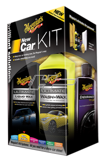 Bilvårdskit Meguiars New Car Kit