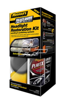 Polerkit Meguiars Heavy Duty Headlight Rest Kit