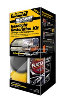 Polerkit Meguiars Heavy Duty Headlight Rest Kit