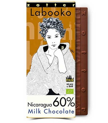 Mjölkchoklad Nicaragua 60%