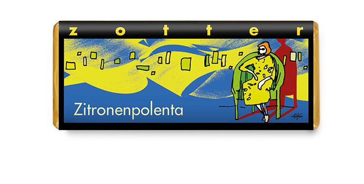 Citronpolenta - NYHET