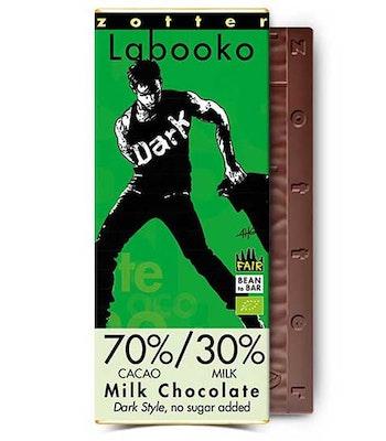 "Mjölkchoklad ""Utan socker"" 70/30"