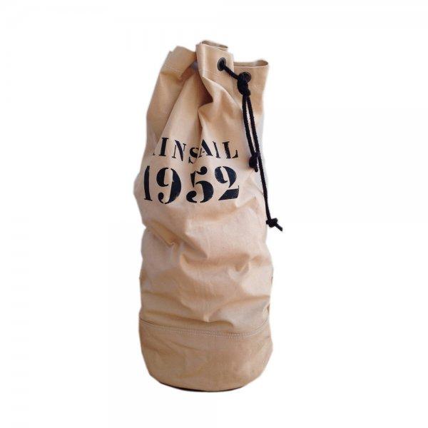 Oscar Borgström Sailorsbag i ny canvas och detaljer i seldonsläder