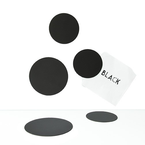 Magnet set Cirklar Svart - Groovy Magnets