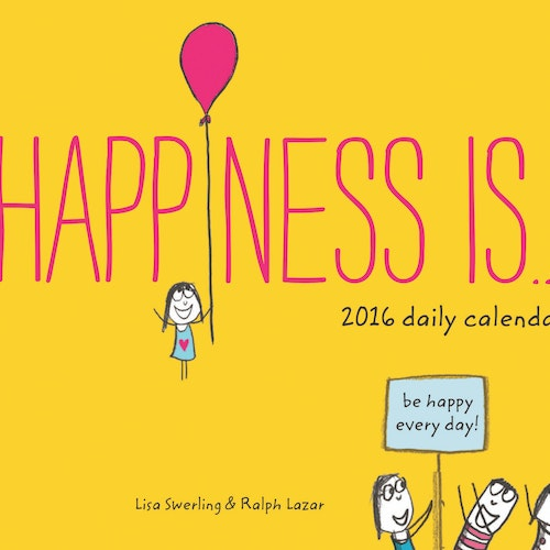 2016 Daily Kalender - Happiness is... - från Chronicle Books