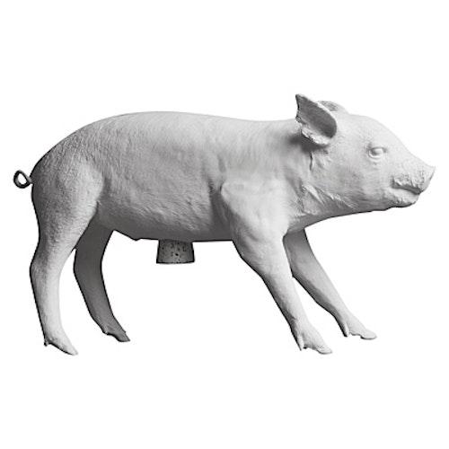 AREAWARE - vit gris / spargris / bank in the form of a pig - DESIGNKLASSIKER!