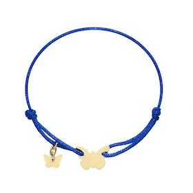 Armband med fjäril fr BORBOLETA - finns i 2 färger!