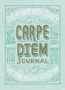 Carpe Diem Journal - från Chronicle Books (SISTA CHANSEN!)