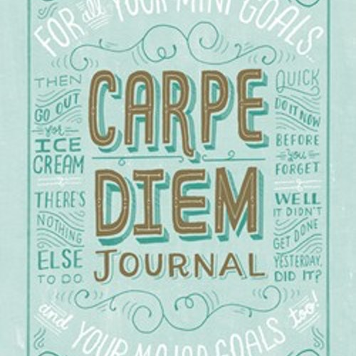 Carpe Diem Journal - från Chronicle Books (SISTA CHANSEN!)