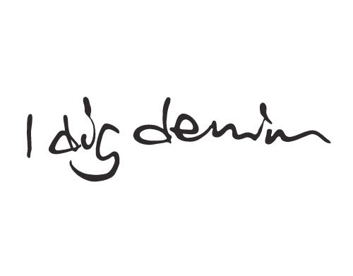 Grå Dina Dress (collegeklänning) med fickor från I dig denim - AW15 NYHET