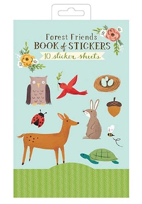 Forest Friends Book Of Stickers - GALISON New York