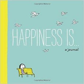 Happiness is... a journal - anteckningsbok - Chronicle Books