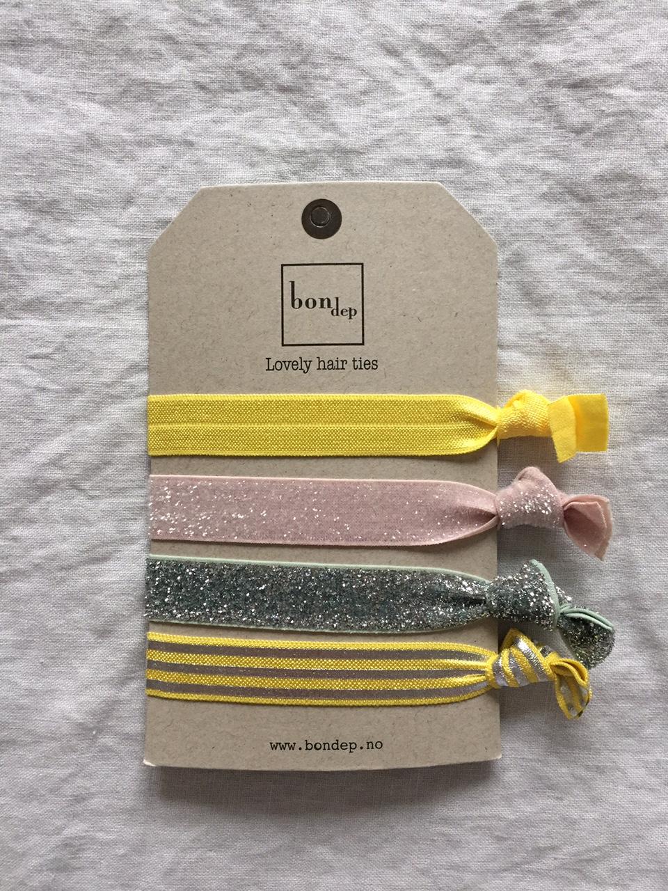 Hårsnoddar / armband från norska Bon dep - förpackning nr 2